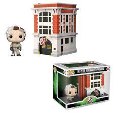 Ghostbusters POP Town Vinyl Figure Dr. Peter Venkman & House 9 cm Moments