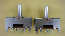 PIC TS-23E01-TC12 2P3T Vintage Through Hole Switch New Lot Quantity-3