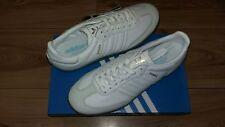 Adidas Samba SPZL UK 8 Spezial White Leather Blue Gum Sole Hamburg Rare Handball