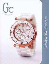 Katalog GC Diver Chic Collection 2011 span. Uhrenkatalog Uhrenprospekt Prospekt