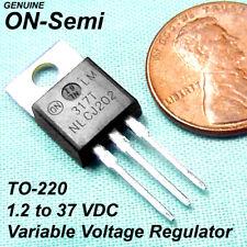100 Lm317 237 Vdc Positive Variable Voltage Regulatorto 220 Genuine On Semi