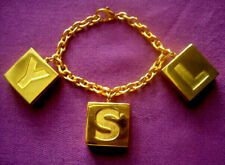 YSL VINTAGE Authentique bracelet Yves Saint Laurent !!