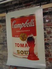 Lmt Ed~ Dick Hess~Pandora Products~Campbell's Soup~Andy Warhol Shooting Inspired