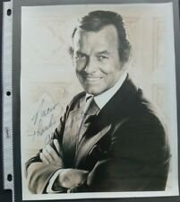 David Janssen Signed Photo - TV and Movie Actor - The Fugitive