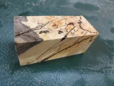 MM-SPALTED  MAPLE  DELUXE  KNIFE BLOCK/SCALES/ CALLS/ PEN BLANKS--M--45