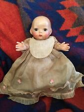 "Extremely Rare Antique 12"" Lenci Prosperity Baby Doll From 1930's 100% original"