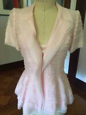 Oscar de la Renta 100% Silk Organza Blouse with Camisole - Size 4