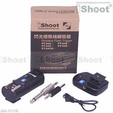 30m-Studio/Speedlight Remote Control Wireless Radio Flash Trigger PT-04 fr Nikon