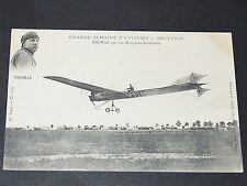 CPA 1909 AVIATION MONOPLAN ANTOINETTE AVIATEUR THOMAS AEROPLANE PIONNIER MEETING