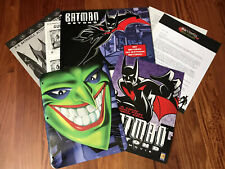 Batman Beyond Return of the Joker 1999 Complete Press Kit~Rare