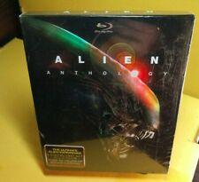 Alien Anthology (Blu-ray Disc,6-Disc Set, DigiBook Slipbox)4 Movies-New-Free S&H