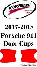 3M Scotchgard Paint Protection Film Clear Bra Pre-Cut 2017 2018 Porsche 911