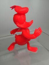 "Vintage Walt Disney Prod. Marx Donald Duck Plastic Figurine 5.75"" USA 1971"