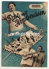 Filmprogramm: Reise mit Hindernissen, Nr. 67/54