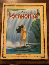 Rare Disney's Pocahontas Illustrated Classic Edition Hardback Book 96 Pages New