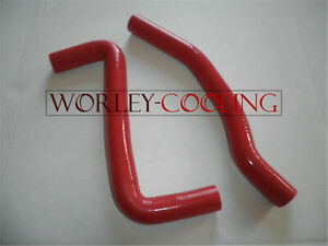 RED Silicone Radiator Hose Kit for Toyota Celica GT-4 ST205 3S-GTE