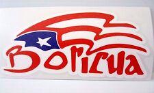 PUERTO RICO BORICUA FLAG Decal Sticker -SHOW YOUR PROUD