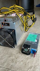 ANTMINER L3+ DOGE DOGECOIN MINER SCRYPT LITECOIN HP DPS-1200FB 1200 PSU Included