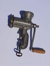 Antique German kitchen meat grinder iron cast  Alexanderwerk # 8 marked