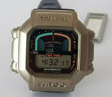 Vintage LCD Watch Adec by Citizen Digital-TITANIUM-VERY RARE !!!!