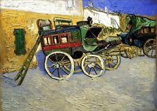 Vincent van Gogh Tarascon Diligence canvas print 8X12 art reproduction giclee