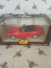 MAISTO 1.24 DIE CAST METAL HONDA S2000 EUROPEAN VERSION SPECIAL EDITION BOXED