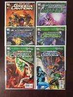 Green Lantern Comic Book Lot, 6 Issues, Near Mint, Vol. 4