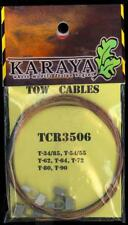 Karaya Models 1/35 METAL TOW CABLES Russian Tanks T-34 to T-90