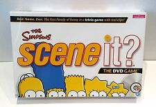THE SIMPSONS SCENE IT? FAMILY DVD TRIVIA GAME - NEW & SEALED
