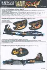 Kits World Decals 1/72 B-17G FLYING FORTRESS Tondalyo & Wee Willlie