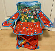 NEW Disney Mickey Mouse Club House Mickey & The Roadster Racers Fold N Go Chair