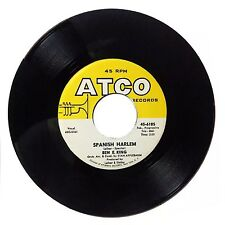 1960 Ben E King 'Spanish Harlem/First Taste Of Love' 6185 ATCO 45 RPM NM