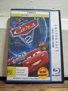CARS 2 - Ex Rental - Blu Ray