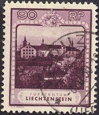 Handstamped Liechtenstein Stamps