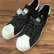 A209 Adidas Superstar 80s PK Primeknit Speckled Black Mens Size 12 New