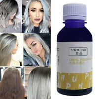 100G Cheveux Shampooing Violet Toner Blond Anti Jaune Soins Cheveux Protection