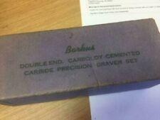 Barkus Graver Set / Double End Caraboloy Cemented Carbide stone wheels