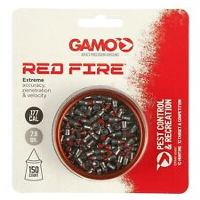 Gamo 632270154 RED FIRE PELLETS 4.5mm .177 CAL CALIBER TIN OF 150 FREE SHIPPING