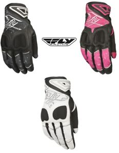 Fly Racing Fly Street Women's Venus Gloves Leather And Touchscreen Compatible