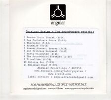 (GV195) Gyratory System, The Sound-Board Breathes - DJ CD