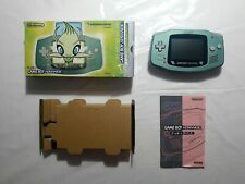 Nintendo Gameboy Game Boy Advance Celebi Pokemon Center limited Special Edition