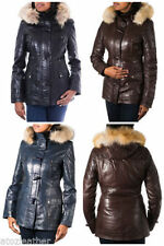 Fox Leather Winter Coats & Jackets for Women