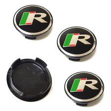 "4x 59mm 2.32"" Sport R Emblem Car Logo Wheel Center Hub Caps Rim Fit For JAGUAR"