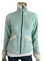 Patagonia XS Synchilla Jacket Mint Green Sherpa Trim Fleece Full Zip sweater XS