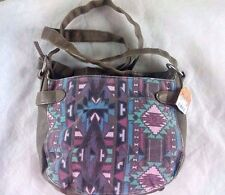 MUDD Tribal Aztec vegan leather crossbody bag
