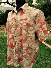 Tori Richard Honolulu Men's Short Sleeve Casual Shirt Size 2XL Made in USA