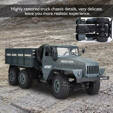 MZ 1:12 RC Truck Rock Crawler Off-Road 2.4G 6WD Military Remote Control Car ❤gi