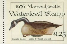 MASSACHUSETTS #3 1976 STATE DUCK CANADA GOOSE DECOY by William Tyner