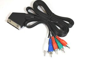 Audio Video Lead 06BAVSCR5 1.8m Scart plug out to 5 RCA Male In NEW