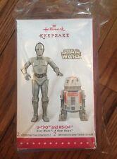 SDCC 2015 Hallmark Exclusive Ornaments Star Wars U-3PO & R5-D4 Droids RARE NYCC